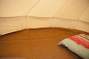 【送料無料】キャンプ用品 テントマットココナツハーフムーン3m4m5mテントブティック6mbell tent matting coir half moon 3m, 4m, 5m, 6m by bell tent boutique