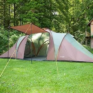 【送料無料】キャンプ用品 skandikaデイトナxxl 6マンドームテント3メッシュskandika daytona xxl 6 personman family dome tent 3 bedrooms mosquito mesh