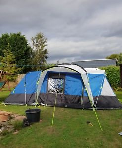 【送料無料】キャンプ用品 alana 700 dl 7テントalana 700 dl seven berth family tent used once