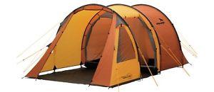 【送料無料】キャンプ用品 easy camp galaxy 400 orangeトンネル1201894person tenteasy camp galaxy 400 orange 4 person tent camping festival tunnel 120189