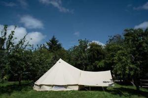 【送料無料】キャンプ用品 400×260cmテントサンドawning400 x 260cm large awning with extra eyelets for all bell tents sand or grey