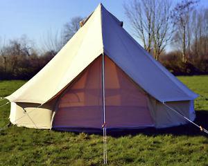 【送料無料】キャンプ用品 zigグラウンドシート5m100キャンバステント5m 100 cotton canvas bell tent with heavy duty zig groundsheet