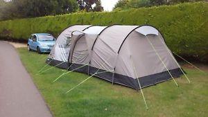 【送料無料】キャンプ用品 テントkampa oxwich 5テントトレーラーtent kampa oxwich 5 classic tent and trailer
