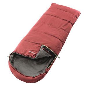 【送料無料】キャンプ用品 3シーズンsingleキャンピオンラックス  outwell 3 season single campion lux sleeping bag  赤