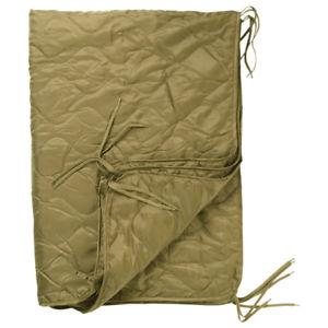 【送料無料】キャンプ用品 ripstopコヨーテキルティングポンチョライナーハイキングmilitary quilted poncho liner hiking blanket camping sleeping bag ripstop coyote