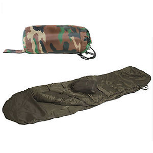 【送料無料】キャンプ用品 ミルテックゲリラ1 1シーズンcamo miltec commando one 1 season lightweight summer military sleeping bag camo