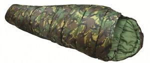 【送料無料】キャンプ用品 3camo mummy sleeping bag dpm5ccamo mummy sleeping bag dpm for military army 3 season 5c