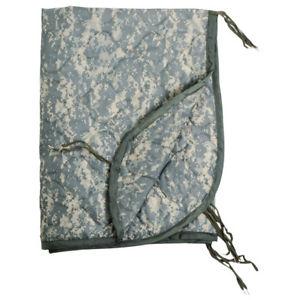 【送料無料】キャンプ用品 ポンチョキルトライナーマットデジタルarmy poncho quilted liner sleeping bag mat travel military us acu digital camo