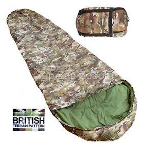 【送料無料】キャンプ用品 バッグarmy combat military compact lightweight travel sleeping bag all terrain camo