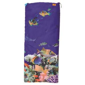 【送料無料】キャンプ用品 キャンプ easy camp kids square sleeping bag aquarium