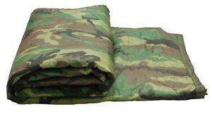 【送料無料】キャンプ用品 giアメリカオリジナルカモフラージュポンチョライナー gi usa original camouflage poncho liner military unissued surplus blanket