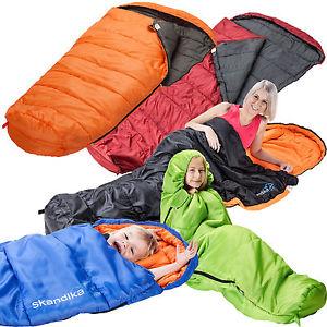 【送料無料】キャンプ用品 ゼクストラskandikaベガスxlzipskandika vegas xl xtrawide sleeping bag adult kids left right zip colours