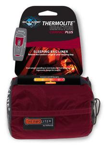 【送料無料】キャンプ用品 コンパクトthermoliteミイラライナーリアクターsea to summit reactor plus compact thermolite mummy sleeping bag liner