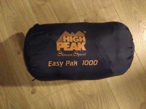 【送料無料】キャンプ用品 ピークpak 1000 3シーズンhigh peak easy pak 1000 3 season sleeping bag