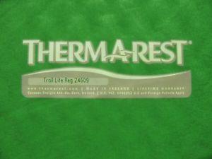 【送料無料】キャンプ用品 サームaライトマットレスthermarest trail litemattress