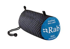 【送料無料】キャンプ用品 ラブミイラライナーrab silk mummy sleeping bag liner brand blue in colour
