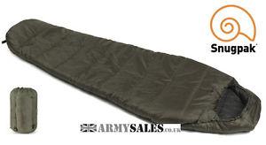 【送料無料】キャンプ用品 snugpak sleeper litebasecamp4oliveフードミイラsnugpak sleeper lite basecamp olive 4 season, mummy sleeping bag with hood