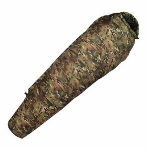 【送料無料】キャンプ用品 4ミイラcamohighlander 4 season cold weather sleeping bag mummy camo army military winter