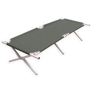 【送料無料】キャンプ用品 アルミニウムベッドwキャリーバッグケースグリーンaluminium military army camping folding camp bed cot w carry bag case green