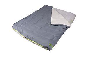 【送料無料】キャンプ用品 kampaゼニスkombiシートkampa kip zenith kombi double sleeping bag with integrated fitted sheet