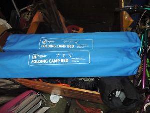 【送料無料】キャンプ用品 ベッドx 2ギヤーhi gear folding camp bed x 2
