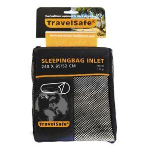 【送料無料】キャンプ用品 travelsafeライナーミイラts0310travelsafe sleeping bag inlet liner mummy silk ts0310 lightweight thin