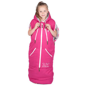 【送料無料】キャンプ用品 slpy1ギヤーピンクサイズslpy the wearable sleeping bag kids adventure gear pink one size