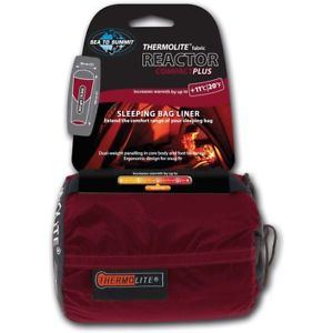 【送料無料】キャンプ用品 ライナーthermoliteリアクターコンパクトsea to summit thermolite reactor compact plus sleeping bag liner