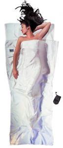 【送料無料】キャンプ用品 シルクバッグライナーcocoon travelsheet silk ultralight sleeping bag liner, 220x90cm white