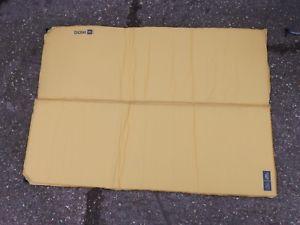 【送料無料】キャンプ用品 ダブルキャンプマットベッドマットレス758ex display double selfinflating camping roll mat camp bed mattress yellow 758