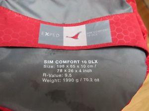 【送料無料】キャンプ用品 マットexped sim comfort 10dlxexped sim comfort 10 dlx camping sleeping sleep mat pad