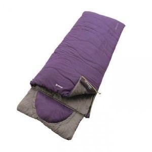 【送料無料】キャンプ用品 ポリエステルラックスナス  2018outwell camping polyester contour lux eggplant purple sleeping bag 2018