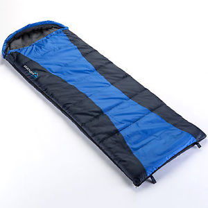 【送料無料】キャンプ用品 zipskandikaサーソーskandika thurso envelope sleeping bag blue cotton lining right zip