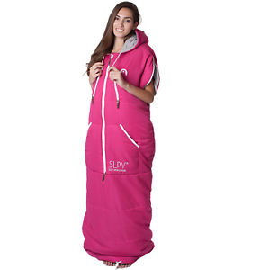 【送料無料】キャンプ用品 ピンクギアサイズslpy the original womens adventure gear wearable sleeping bag pink all sizes