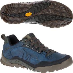 【送料無料】キャンプ用品 merrelltrakmensウォーキングシューズ merrell annex trak low mens walking shoes blue