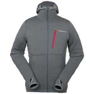 【送料無料】キャンプ用品 ハイイロガラスmontane mens power up hoodie stratus grey
