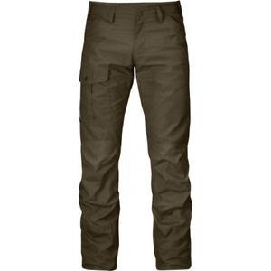 【送料無料】キャンプ用品 fjallravenニールスレッグmensカーキーサイズfjallraven nils reg leg mens pants walking khaki all sizes
