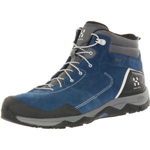 【送料無料】キャンプ用品 ブーツhaglofsロックgt mensブーツインクサイズhaglofs roc claw mid gt mens boots walking boot blue ink haze all sizes