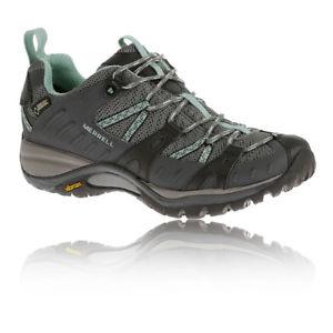 【送料無料】キャンプ用品 merrellサイレンスポーツwomensgoretexウォーキングシューズトレーナーmerrell siren sport womens grey goretex waterproof walking shoes trainers