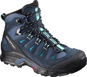 【送料無料】キャンプ用品 ソロモンブラザーズクエストレディースウォーキングブーツsalomon quest prime gtx ladies walking boots blue