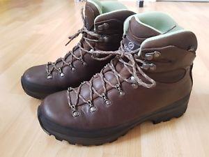 【送料無料】キャンプ用品 レックハイキング¥ブーツscarpa trek gtx leather hiking boots 42 8 rrp 200