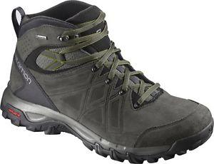 【送料無料】キャンプ用品 ソロモンミッドメンズウォーキングブーツグレーsalomon evasion 2 mid ltr gtx mens walking boots grey
