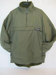 【送料無料】キャンプ用品 オリーブグリーンブラックシャツスモックバッファロー