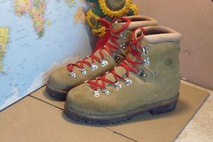 【送料無料】キャンプ用品 ライトブラウンハイキングブーツサイズ listingmens light brown raichle vtg hiking boots size us 85 d uk 8