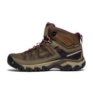 【送料無料】キャンプ用品 ミッドウォーキングブーツブラウン keen targhee iii mid waterproof women's walking boots brown