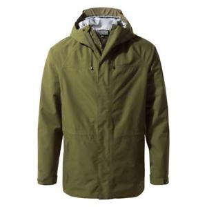 【送料無料】キャンプ用品 メンズゴアテックスウォーキングハイキングコートジャケットダークモスグリーン