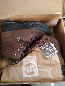 【送料無料】キャンプ用品 ハイキングブーツフルレザーas mens hanwag nazcat hiking boots gtx full leathergoretex uk 8