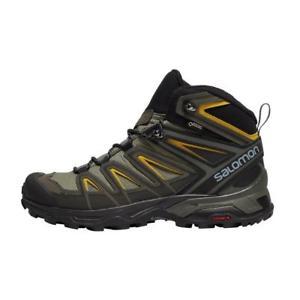 【送料無料】キャンプ用品 サロモンウルトラミッドメンズハイキングトレーニングシューズ salomon x ultra 3 mid gtx men's hiking training shoes