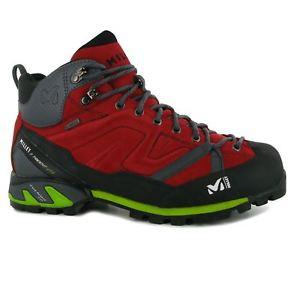 【送料無料】キャンプ用品 キビメンズウォーキングブーツハイキングトレッキングmillet gents mens triden gtx mid walking boots hiking trekking laced shoes