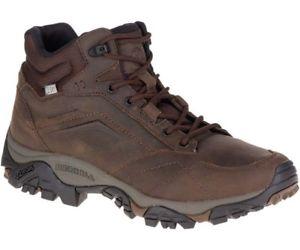 【送料無料】キャンプ用品 アドベンチャーミッドメンズハイキングブーツダークアースmerrell moab adventure mid mens waterproof hiking boots dark earth